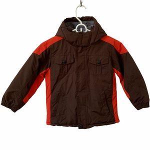 WonderKids Hooded Lined Winter Coat Boys 5T